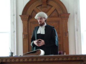 Court house judge